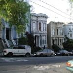 Victorians in Fillmore San Francisco
