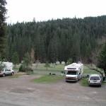 RV (second) at Yosemite Lakes RV park