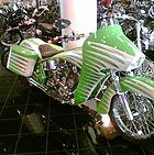 Arlen Ness bike - Arlen Nesss shop - Dublin, CA