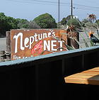 Lunch at Neptunes Net on the Pacific Coast Highway