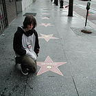 Adam and Jimmi Hendrixs star on the Hollywood Walk Of Fame